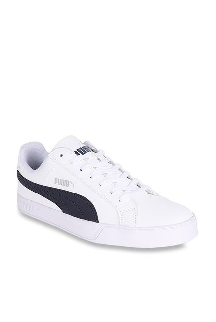 separation shoes 7a2ed 83511 Buy Puma Smash Vulc White Sneakers for Men at Best Price ...