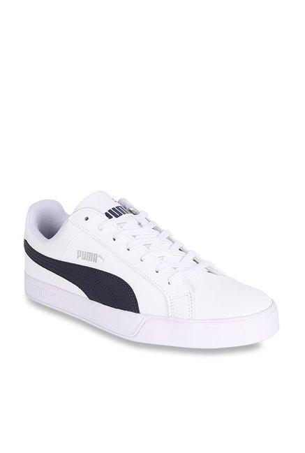 separation shoes d18ea e4ca9 Buy Puma Smash Vulc White Sneakers for Men at Best Price ...
