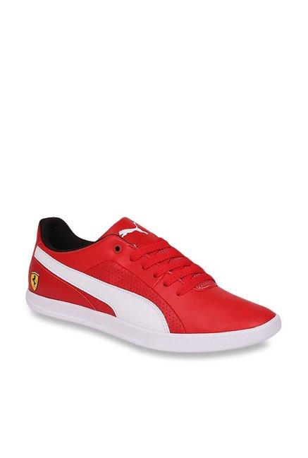 c2e4f71e77713 Buy Puma Ferrari SF Selezione Rosso Corsa   White Sneakers for ...