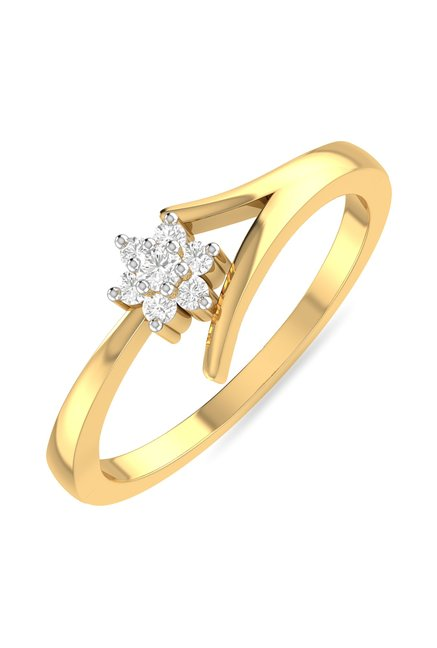 PC Jeweller Berinhard 22 kt Gold Ring