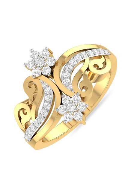 PC Jeweller Case 22 kt Gold Ring