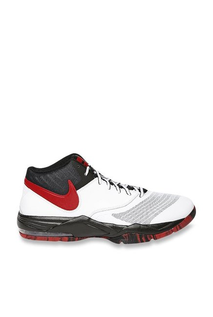 Buy Nike Air Max Emergent White & Red Basketball Shoes for