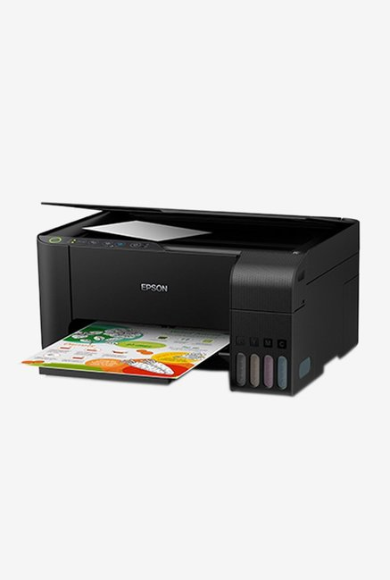 Epson EcoTank L3150 Multi-Function Wi-Fi AIO InkJet Printer (Black)