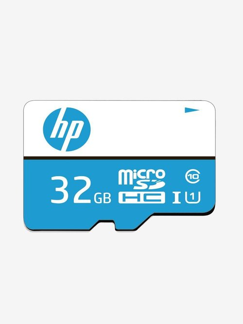 HP Micro SDHC 32  GB Class 10 Memory Card  Blue