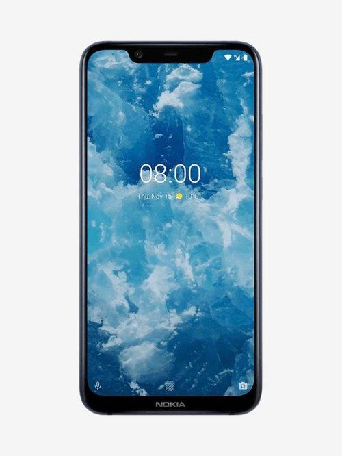 Nokia 8.1 64 GB (Blue/Silver) 4 GB RAM, Dual SIM 4G