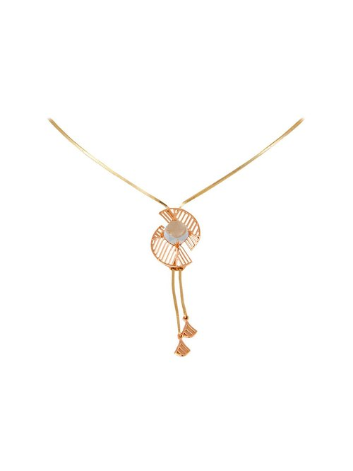Buy Mia by Tanishq 14 kt Gold Necklace Online At Best Price @ Tata CLiQ