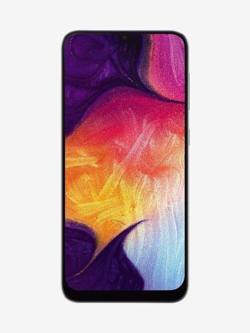 Samsung Galaxy A50 (White, 4GB RAM, 64GB Storage) with No Cost EMI/Additional Exchange Offers
