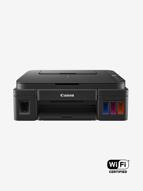 Canon Pixma G3010 Multi Function Wireless Ink Tank Printer  Black