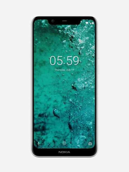 Nokia 5.1 Plus 32  GB  White  3  GB RAM, Dual SIM 4G