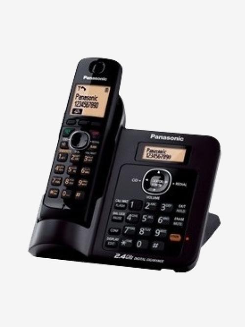 Panasonic KX TG3811 Cordless Landline Phone  Black
