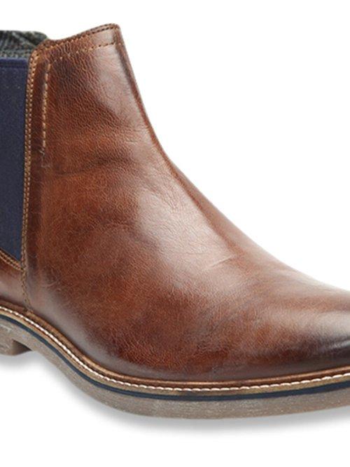Buy Bugatti Brown Chelsea Boots for Men at Best Price @ Tata CLiQ