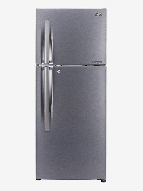 LG 260L Inverter 2 Star 2020 Frost Free Double Door Refrigerator  Dazzle Steel, GL N292RDSY