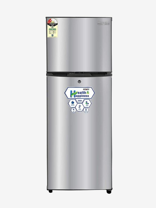 Mitashi 145 L 2 Star  2019  Direct Cool Double Door Refrigerator  Silver, MiRFDDP2S145v20 Online Shopping Site in India   Upto 60% Off On Mobiles, Ele