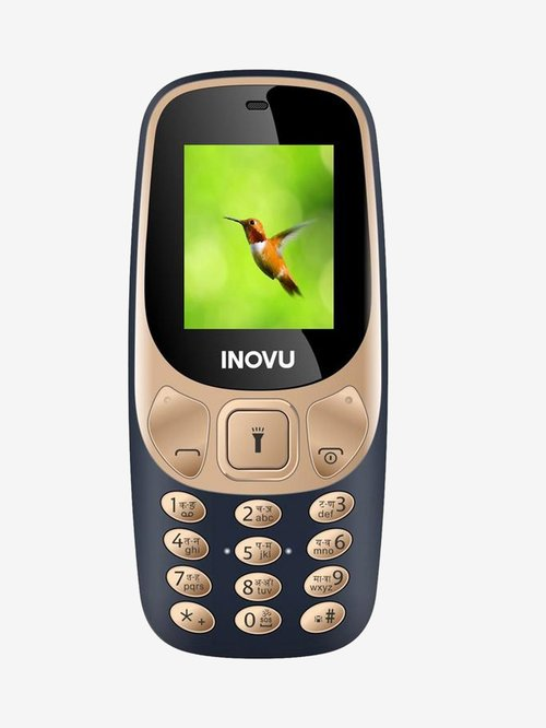 Buy Inovu A1 (Gold and Blue) Dual SIM Online At Best Price @ Tata