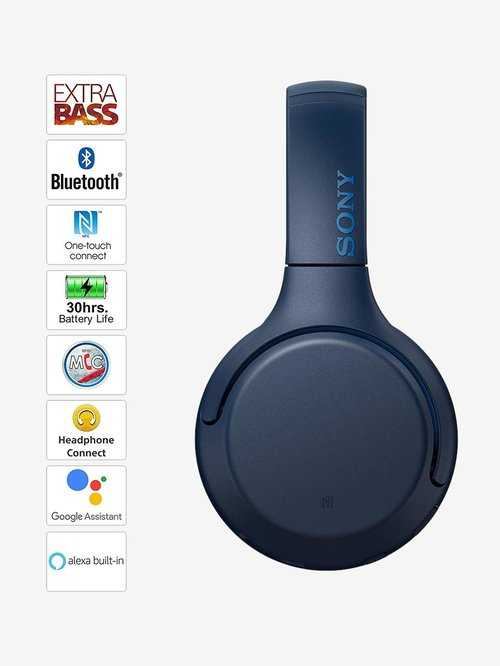Buy Sony WH-XB700 Over The Ear Bluetooth Headphone With Mic
