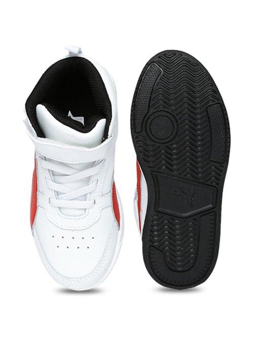 597609b130 Buy Puma Kids Rebound Street V2 L V PS White Ankle High Sneakers for ...