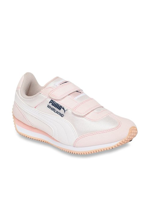 Puma Girla Pink Whirlwind Sneakers Size 2 Youth New
