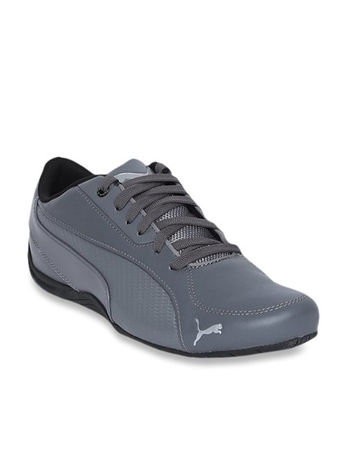 quality design 114c1 f5d05 Buy Puma Drift Cat 5 Carbon Steel Grey Sneakers for Men at ...