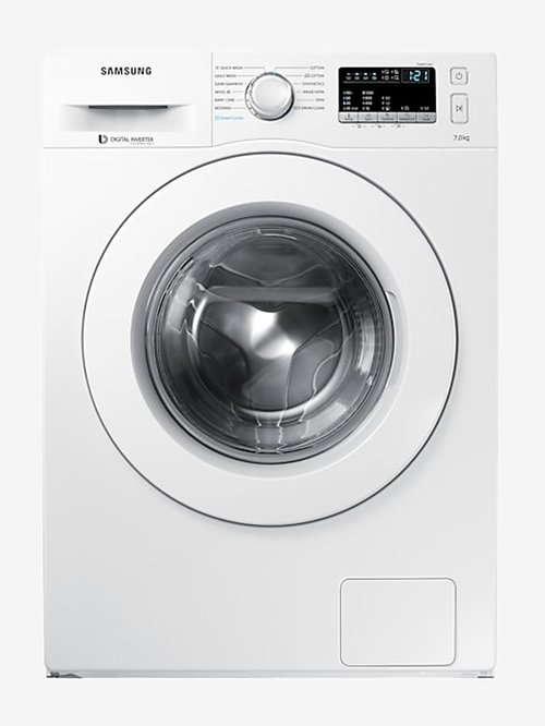 Samsung 7 kg Inverter Fully Automatic Front Load Washing Machine with Heater  WW70J42G0KW,White