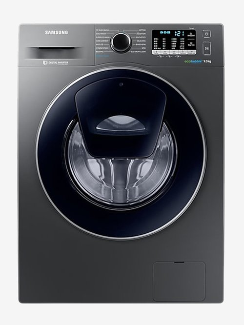 Samsung 9 kg Inverter Fully Automatic Front Load Washing Machine with Heater  WW90K54E0UX,Inox