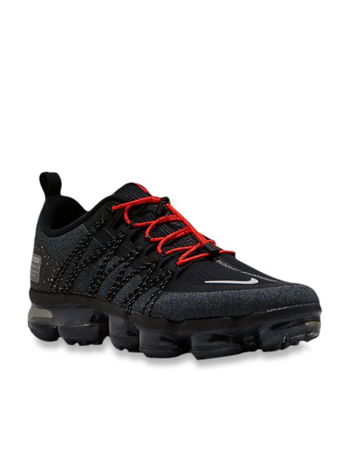 the latest 3c8d3 aff89 Buy Nike Air Vapormax Run Utility Black Running Shoes for Men at Best Price  @ Tata CLiQ