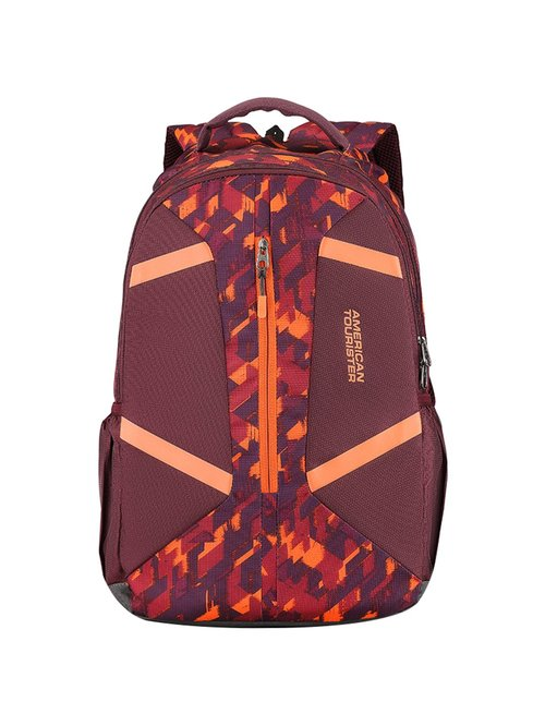 American Tourister Meso 31 Ltrs Burgundy Casual Backpack
