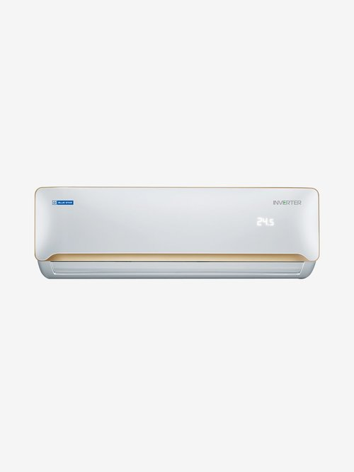 Blue Star 1 Ton Inverter 3 Star Copper (2019 Range) R32 Refrigerant IC312YATU Split AC (White)