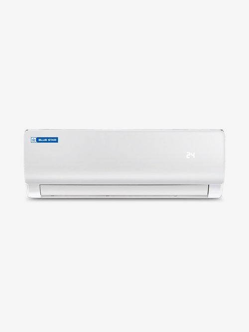 Blue Star 1.5 Ton 3 Star Copper  2019 Range  R32 Refrigerant FS318ZATU Split AC  White