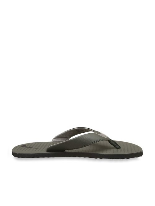 newest 31b17 83372 Buy Nike Chroma Thong 5 Grey Flip Flops for Men at Best ...