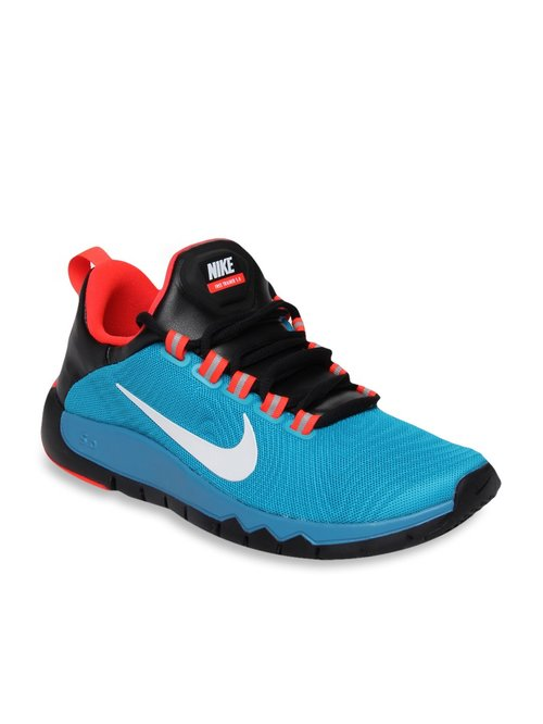 reputable site 461ae c82ab Buy Nike Free Trainer 5.0 Blue Training Shoes for Men at ...