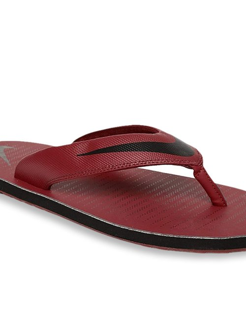 on sale decae d7042 Buy Nike Chroma Thong 5 Red Flip Flops for Men at Best Price ...