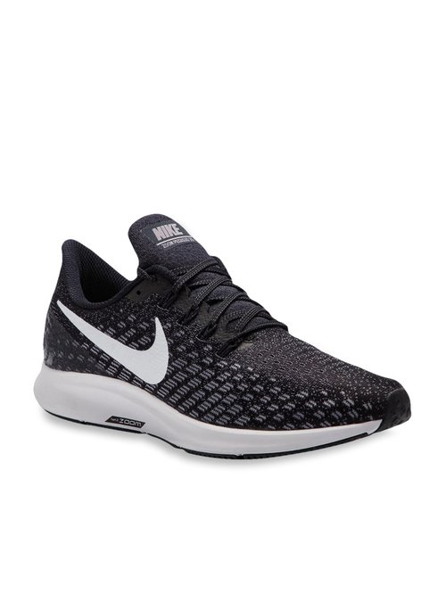 detailed look 7c2c3 b96f3 Buy Nike Air Zoom Pegasus 35 Black Running Shoes for Men at ...