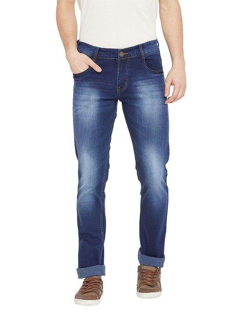 Duke Dark Blue Regular Fit Jeans