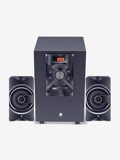 iball SoundKing i3 16W 2.1 Channel Home Theatre System  Black