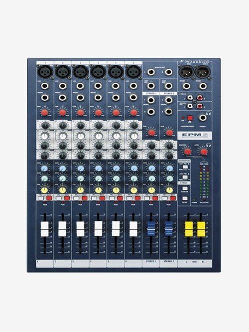 Soundcraft EPM6 Professional Audio Mixer (Navy Blue)
