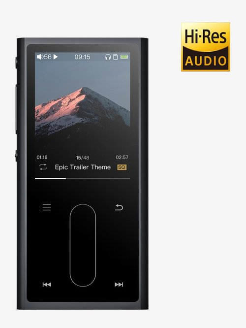 FiiO M3K HiFi Metal Shell Music Player with 16GB Memory Card and Digital Voice Recorder (Black)