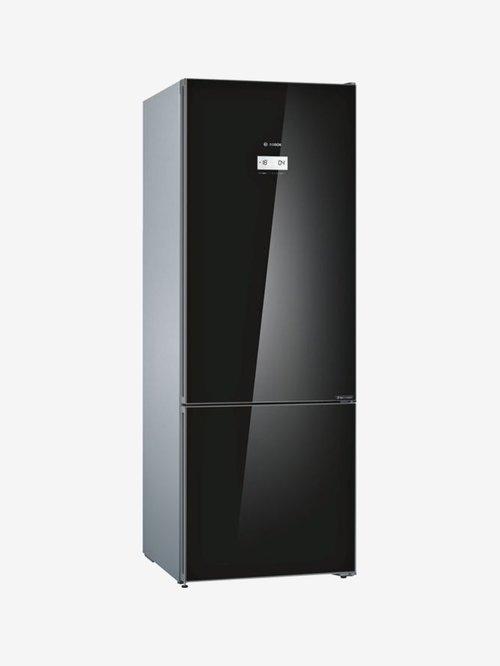Bosch Series 6 KGN56LB41I 559 L Inverter 3 Star Frost Free Double Door Refrigerator (Black)