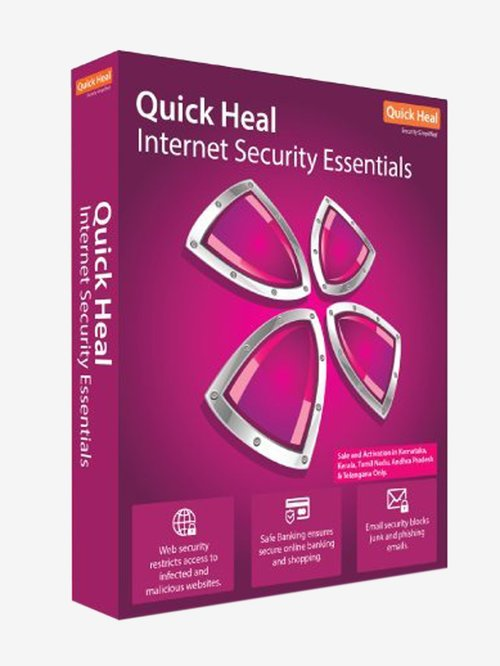 Quick Heal Internet Security - 5 PC for 1 Year
