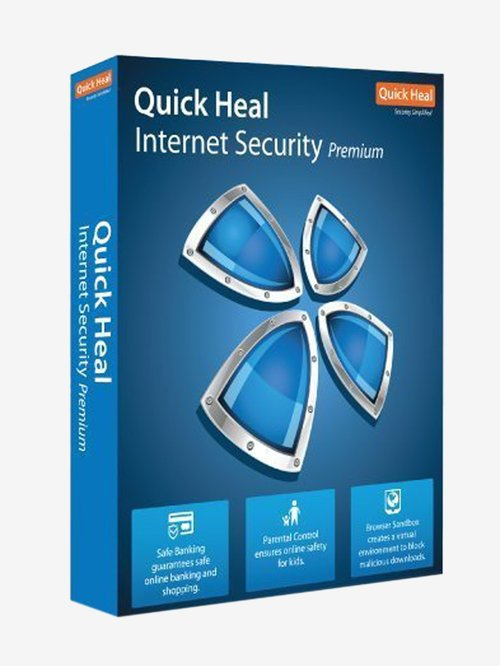 Quick Heal Internet Security - 10 PC for 1 Year (DVD)