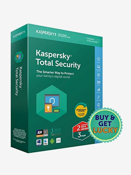 Kaspersky Total Security - 2 PC for 3 Years (CD)
