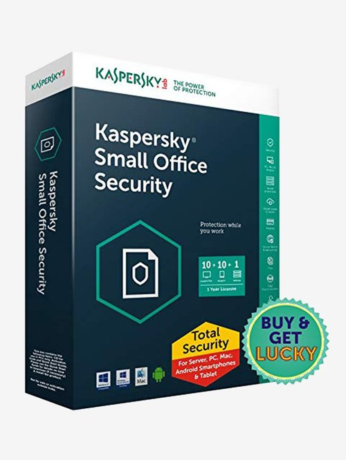 Kaspersky Small Office Security - 10 PC for 1 Year (CD)