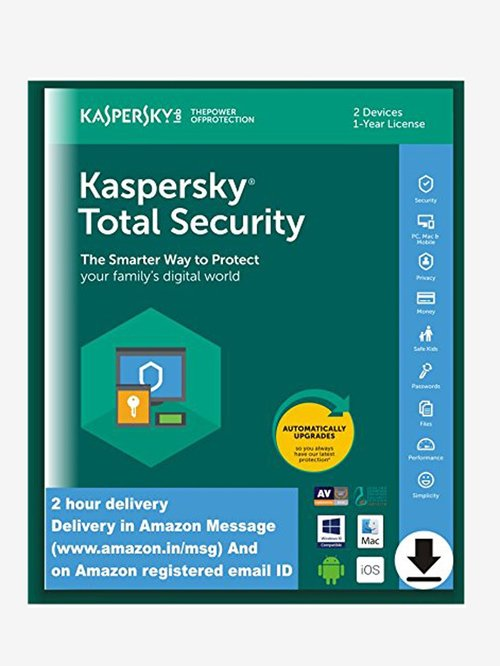 Kaspersky Total Security - 2 PC for 1 Year