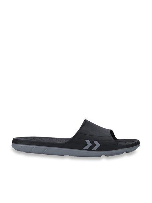 huge discount d17a4 0e84c Buy Hummel Jensen Black Casual Sandals for Men at Best Price ...