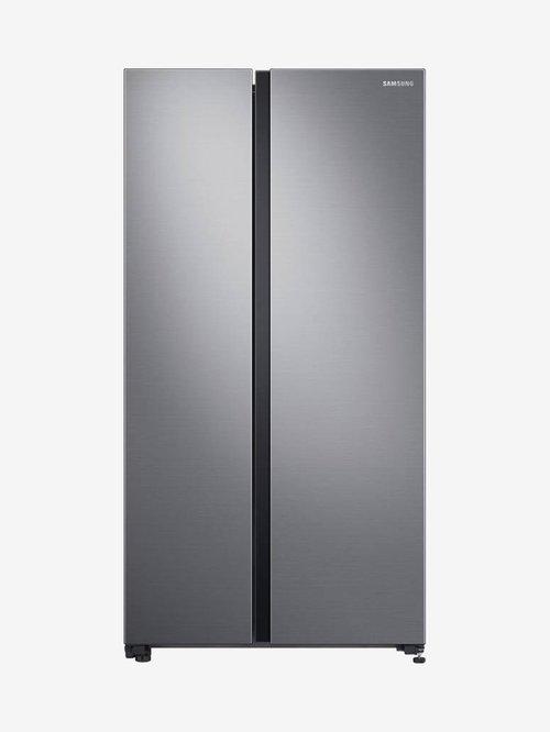 Samsung 700L Inverter Frost Free Side By Side Refrigerator (Gentle Silver Matt, RS72R5001M9/TL)