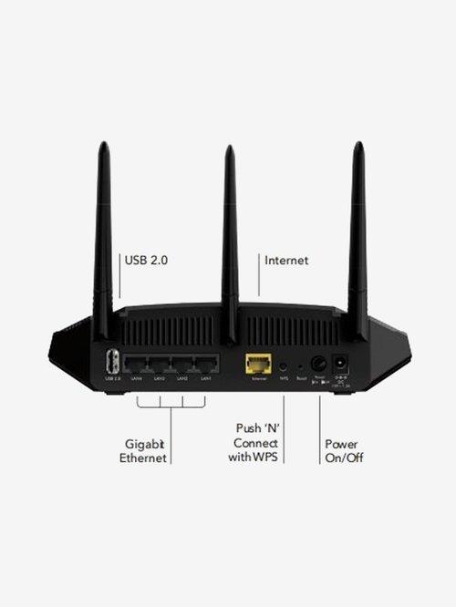 Netgear R6350 AC1750 Smart WiFi Router  Black