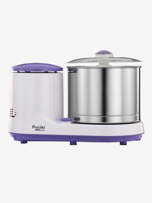 Preethi Smart Grind 150W 1 Jar Mixer Grinder  White/Purple