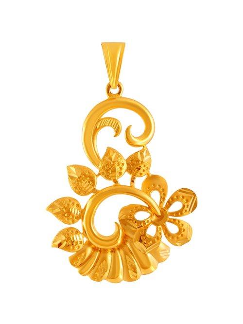 P.C. Chandra Jewellers 22 kt Gold Pendant