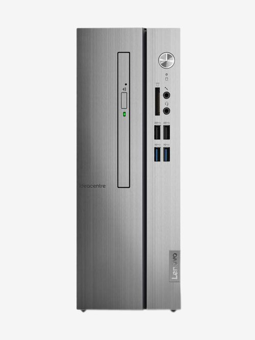 Lenovo Ideacentre 510S 90K8000SIN Tower Desktop (8th Gen i3/4GB/1TB/DOS/INT) Warm Silver