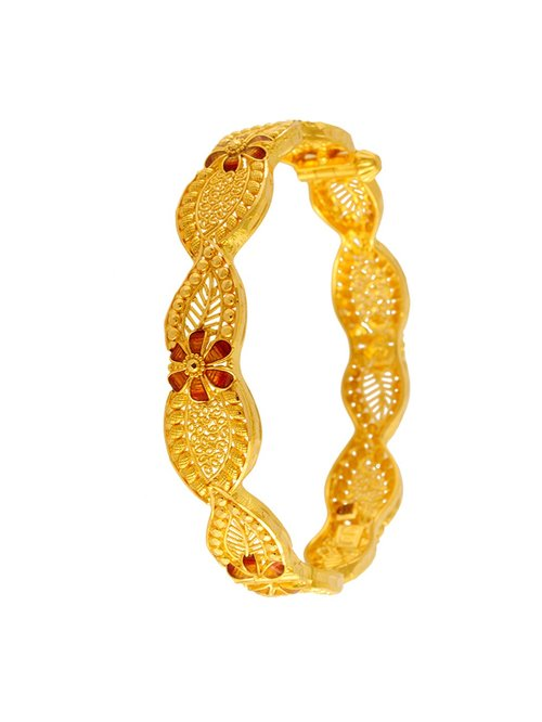 235a75d3b2d39 Buy P.C. Chandra Jewellers 22 kt Gold Bangle Online At Best Price ...