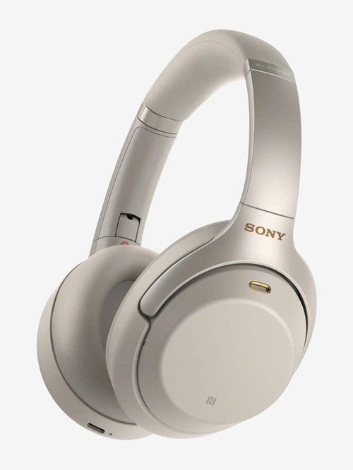 Sony WH 1000XM3 Over The Ear Bluetooth Noise cancellation Headphone With Mic  Silver